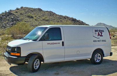 AZ Mobile Glass Van